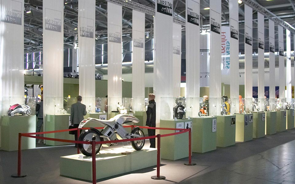Design competition and exhibition for IVM and Intermot