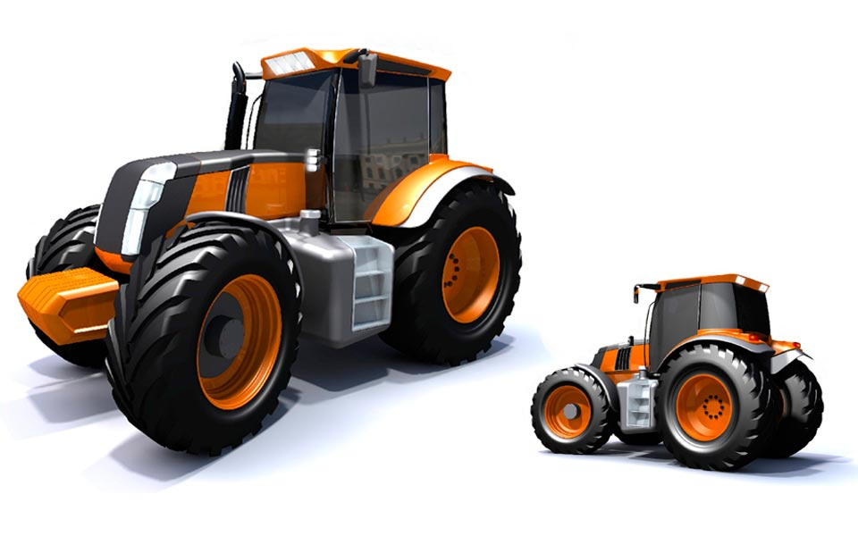 Tractor concept for a undisclosed client